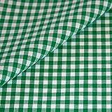 Vichy Karo Baumwollstoff gemustert Meterware verschiedene
