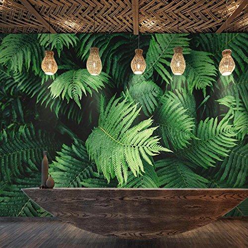Lzhenjiang Wandbilder Die Südostasiatischen Banana Leaf Pflanze Wallpaper Restaurant Schlafzimmer Tv Wandbilder Tapeten Große Blätter.