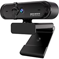 Moskee Full-HD 1080P Webcam mit Mikrofon, Autofokus, Abdeckung, Belichtungskorrektur, USB-Anschluss, PC Kamera für…