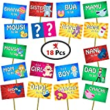 #7: Party Propz Baby Shower Photo Booth (Set of 18)