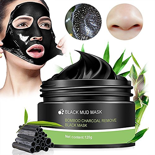 #Black Mask,Peel Off Mask,Mitesser Gesichtsmaske,Peel off Mitesser Maske,Peel Off Schwarz Gesichtsmaske, Reinigungsmaske,Tiefenreinigung Maske Entfernen Akne,120g#