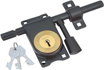 RAMSON L-Type Aldrop Lock Size 11 Inch Brown Colour (L_Brown_11 Inch_107)