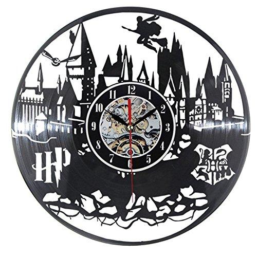 Harry Potter Reloj De Pared Moderno Diseño Vinilo LP Relojes De Regis