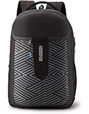dfc0179f5387 American Tourister Crone 29 Ltrs Black Casual Backpack (FG8 (0) 09 102)