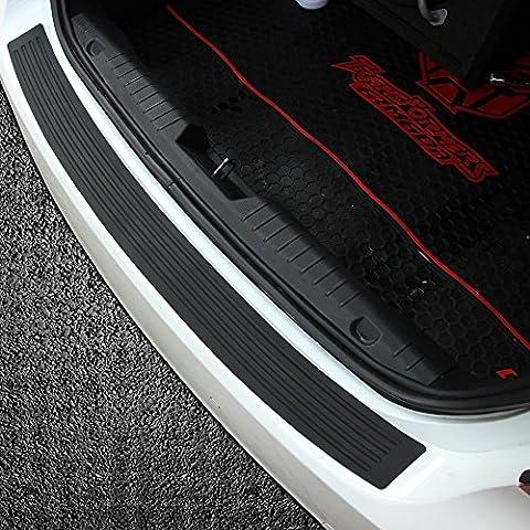 Gomma nera dopo cappello paraurti Protect ionr Trim, auto–Adesivi   per Most Sedan Car S
