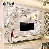 Tapete Experten mit chinesischen wallpaper3dthe Tapete im Wohnzimmer, Stereo-Video, nahtlose Schlafzimmer, Mural Wall-,