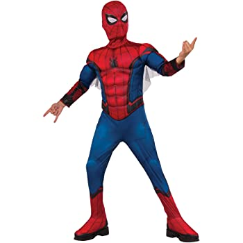 Rubie's Official Spider-Man Homecoming Deluxe Childs Costume Small, 3-4 years