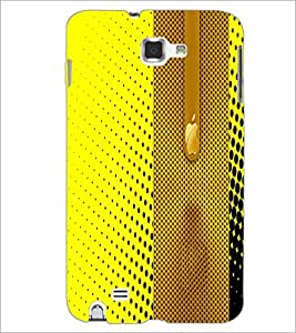 PrintDhaba Pattern D-4981 Back Case Cover for SAMSUNG GALAXY NOTE 1 (Multi-Coloured)
