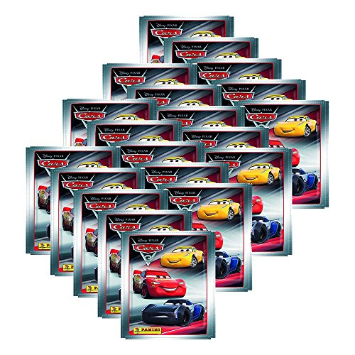 Cars 3 Evolution Panini Movie - 20 Booster (100 Stickers)