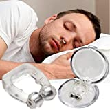 Anti Snore Devices, 10Pcs Anti Snore Nose Clip, Snore Stopper Snoring Relief Nasal Dilators, Nasal Dilator Snoring with Magne