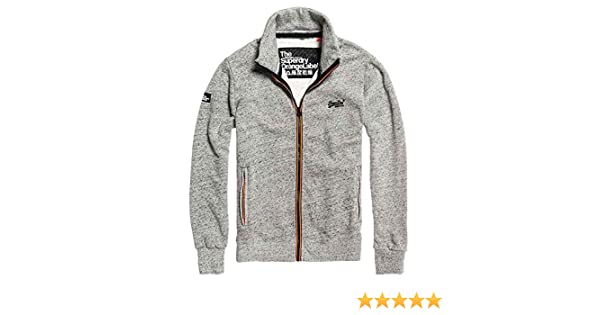 Superdry Herren Trainingsjacke Grau grau Medium Gr. XXX
