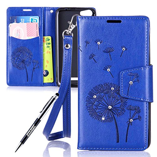 Wiko-Lenny-2-Custodia-Cover-per-Wiko-Lenny-2-JAWSEU-Wiko-Lenny-2-Custodia-Portafoglio-Pelle-Protectiva-Bumper-Shock-Absorption-Lusso-3D-Sollievo-Wallet-Leather-Flip-Cover-Custodia-per-Wiko-Lenny-2-Cop