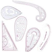 6 Ensemble d'outils de couture métriques françaises,règle courbée pour la couture de patrons de couture pour le…