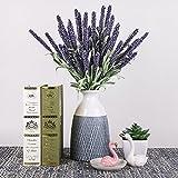 TERESA'S COLLECTIONS Weiß Keramik Vase Kleine Blumenvase Moderne Tischvase Blumen Pflanzen Einfache Deko Vase Keramikvase Garten Dekoration Höhe 20cm Ø 12cm(Weiß & Grau)