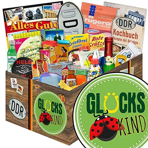 Glückskind | 24er Allerlei | Geschenk Set | Glückskind | DDR Paket | Glückskind Geschenkbox | INKL DDR Kochbuch
