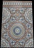 3 Keramikfliesen Asilah 50x75x0,9cm - bunte Wandfliesen Mosaikfliesen