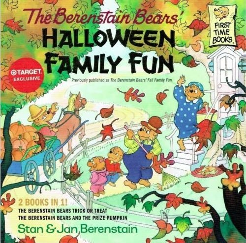 The Berenstain Bears Educational 2 in 1 Paperback ~ Halloween Family Fun (A First Time Book; 8 x 8) by Berenstain Bears (Halloween Bear Berenstain)