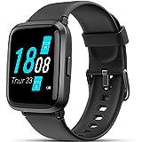 Smartwatch, LIFEBEE Orologio Fitness Uomo Donna, Smart Watch con Saturimetro (SpO2)/Misuratore Pressione/Cardiofrequenzimetro