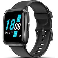 Smartwatch, LIFEBEE Orologio Fitness Uomo Donna, Smart Watch con Saturimetro (SpO2)/Misuratore Pressione…