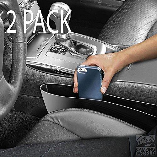 Set von 2Catch Caddy Auto Seat Pocket Aufbewahrung Organizer passend für die meisten cars-stop Drops