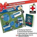 GESCHENK-SET: Die Liga-Apotheke für Vfl Bochum-Fans | 3x süße Schmerzmittel für Vfl Bochum 1848 Fans | Die besten Fanartikel der Liga, besser als Trikot, Home Away, Fan-Schal & Kennzeichenhalter