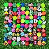 Bouncy Balls,30 Stück Flummis Springball Verschiedene Bunte 30mm Hohe Bouncing Balls Party Bag Filler für Kinder