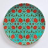 "KOLOROBIA BABUR Inspired Home DÉCOR Wall Plate 10"""