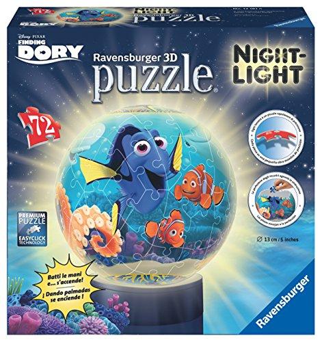 Buscando a Dory Le monde de Dory–Puzzle 3d + lampe (Ravensburger 12181)