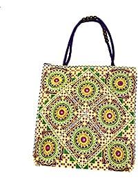 Shubhangi Women's Shoulder Bag (Jaipuri Embridered Handicraft Traditional Handbags,stylish Traditional Bag,Multi-Coloured... - B079KQRJ4W