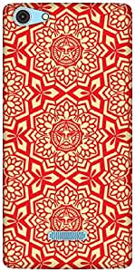 The Racoon Grip RED Tribal hard plastic printed back case / cover for Micromax Canvas Selfie 3 Q348