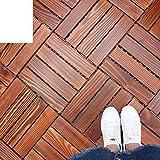 Korrosionsschutz Outdoor Parkette Balkon Wood Parkette Garden Mosaic Floor Diy Wpc Parkette