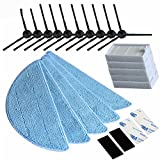 Seitenbürste HEPA Filter, Tücher, Seitenbürsten für V5 und V5Pro und V5S und andere