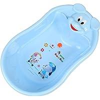 RAREERAM Baby Portable Anti Slip Bathtub, 75x47x20cm (Blue)