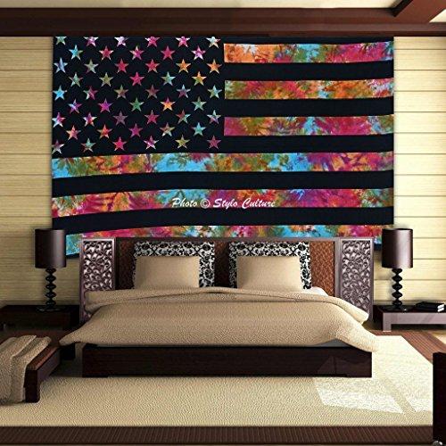 multi-doble-bandera-de-la-pluma-us-culture-mandala-tapiz-de-algodon-impresa-color-del-tenido-colgar-