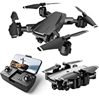 Drone with Camera Live Video,WiFi FPV Drone for Adults with HD 120° Wide Angle Camera 1200 Mah Long Flight time Auto…