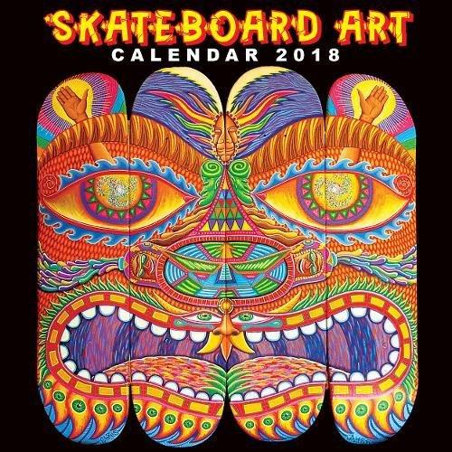 Descargar Libro Skateboard Art Wall Calendar 2018 (Art Calendar) de Various Artists