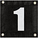 Tourna Windscreen Court Numbers - #1 Windscreen Court Numbers