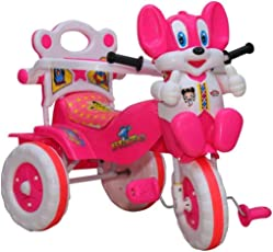 Amardeep Baby Tricycle Pink 86*64*33 cms 1-3 yrs