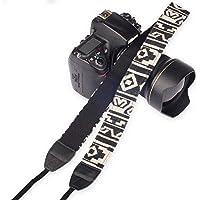 SYGA 1 Piece White Coloured DSLR Camera Shoulder Strap
