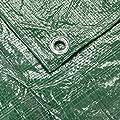 Verdemax 469490-G/M² 4x 5m Plane mit Ösen–Grün von Verdemax auf Gartenmöbel von Du und Dein Garten