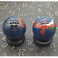 QTZS Chinesische Traditionelle Fitness-Ball Dekompression Handball Blau Drachen Und Phönix 50mm450g preisvergleich bei billige-tabletten.eu