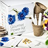 Plant Theatre Gourmet Flower Kit 6-Edible Flower Varieties to Grow