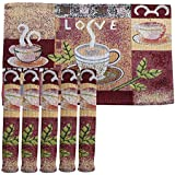 Galaxy Home Decor Dining Table Place Mats. Dining Table Mats 6 Pieces (6)