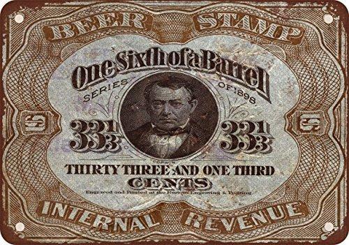 1898-sesta-timbro-di-una-birra-barile-stile-vintage-riproduzione-in-metallo-segni-305-x-406-cm