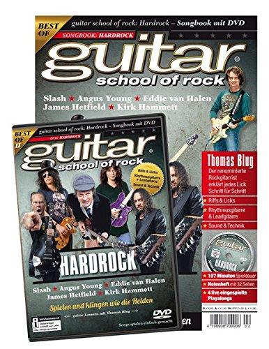 guitar school of rock: Hardrock: Songbook mit DVD