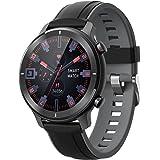 gandley Smart watch for Men Women Android IOS Phones, IP68 Waterproof Bluetooth Smart Watch with Message Notification, Fitnes
