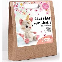 Kit Crochet Chat Licorne
