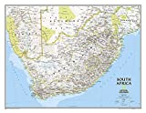 National Geographic: South Africa Classic Wall Map (30.25 X 23.5 Inches) (National Geographic Reference Map)