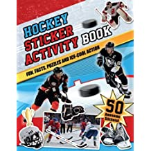 Hockey Sticker Activity Book: Fun, Facts, Puzzles and Ice-Cool Action by Bernardi, Bill (2013) Paperback