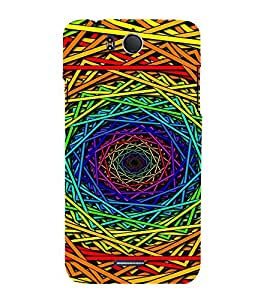 EPICCASE 3D Swirl Mobile Back Case Cover For InFocus M530 (Designer Case)